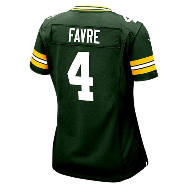 Brett Favre Green Bay Packers Nike Game Day Jersey - Womens -26181