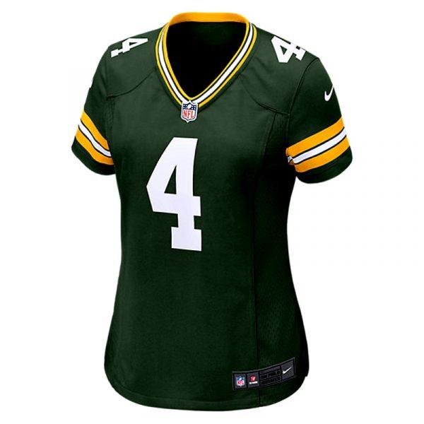 Brett Favre Green Bay Packers Nike Game Day Jersey - Womens -26180