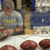 Brett Favre & Peyton Manning Signed Wilson Authentic 70K Yards & 500 TDs NFL Football with Yardage & TD Inscription LE #144 of 150-8368