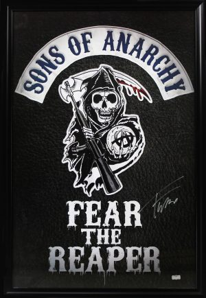 Tommy Flanagan Signed Sons Of Anarchy Fear The Reaper Framed Full Size Poster-0