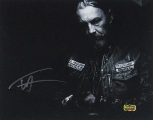 Tommy Flanagan Signed Sons Of Anarchy Black and White 11x14 Photo-0