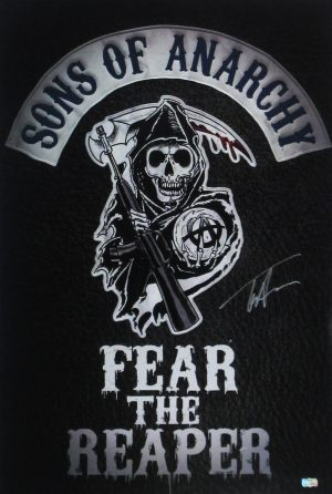 Tommy Flanagan Signed Sons Of Anarchy Fear the Reaper 36x24 Poster -0