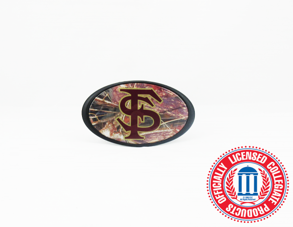 Florida State Seminoles Officially Licensed NCAA Hitch Cover - Camo-0