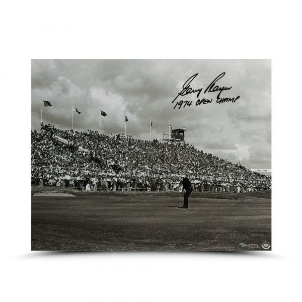 "Gary Player Signed ""Putt for the Win"" 16x20 Photo - LE-13783"