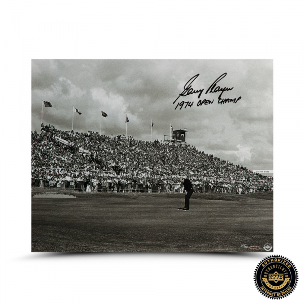 "Gary Player Signed ""Putt for the Win"" 16x20 Photo - LE-0"