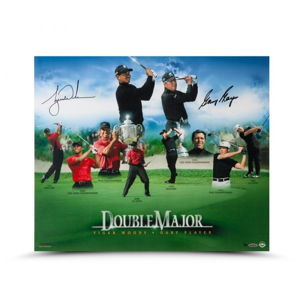 """Gary Player Signed """"Double Major"""" 16x20 Photo - LE-13777"""
