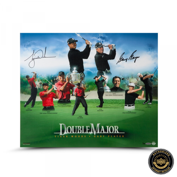 """Gary Player Signed """"Double Major"""" 16x20 Photo - LE-0"""