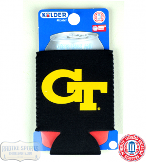 Georgia Tech Yellow Jackets Officially Licensed 12oz Neoprene Can Koozie-0