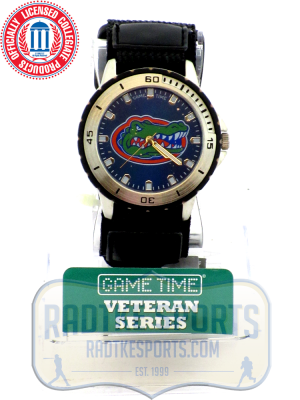 Florida Gators Officially Licensed Game Time Veteran Series Mens Watch-0