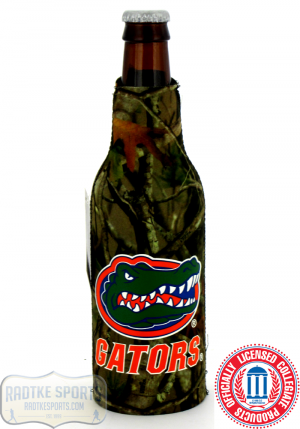 Florida Gators Officially Licensed 12oz Neoprene Bottle Koozie - Camo-0