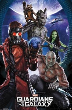 Marvel Guardians of the Galaxy 23x34 Movie Poster -0