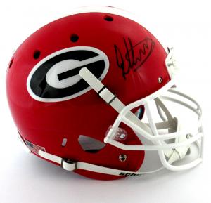Todd Gurley Signed Georgia Bulldogs Schutt XP Full Size NCAA Helmet-0