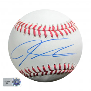 Josh Hamilton Signed Rawlings Official Major League Baseball - MLB Hologram-0