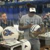 Derrick Henry Signed Tennessee Titans Riddell Authentic NFL Helmet-10996