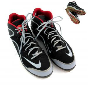 Jason Heyward Authentic Game Used Nike Cleats - Atlanta Braves -0
