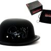 "Ryan Hurst ""Opie Winston"" Signed Daytona Matte Black Authentic Biker Helmet with ""Opie"" Inscription-0"