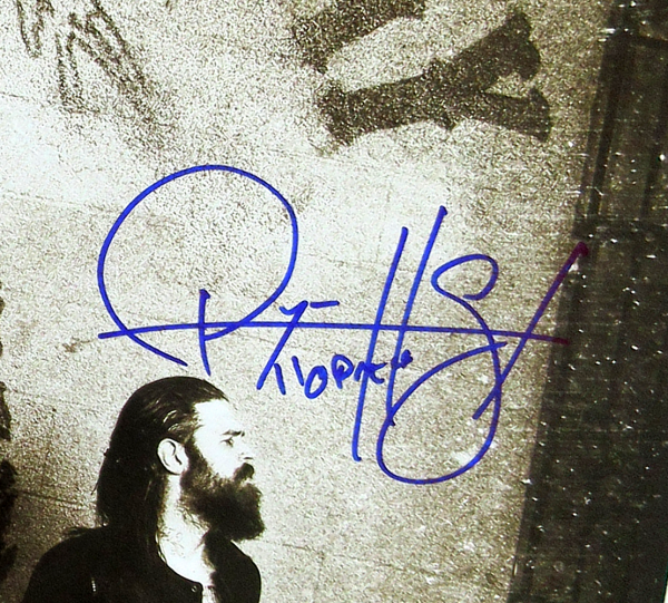 """Ryan Hurst """"Opie Winston"""" Signed Sons of Anarchy 36x24 Poster with """"Opie"""" Inscription - Crew Under Logo-10045"""