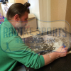 """Ryan Hurst """"Opie Winston"""" Signed Sons of Anarchy 36x24 Poster with """"Opie"""" Inscription - Crew Under Logo-10047"""