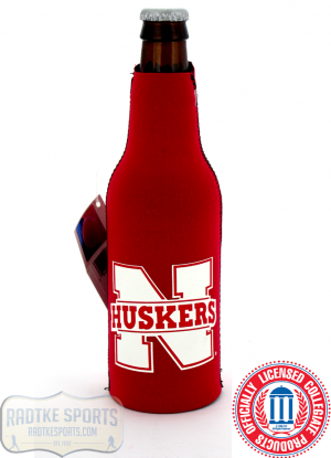 Nebraska Cornhuskers Officially Licensed 12oz Neoprene Bottle Huggie-0
