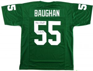 "Maxie Baughan Signed Philadelphia Eagles Custom Green Jersey With ""9x Pro Bowl"" Inscription -0"