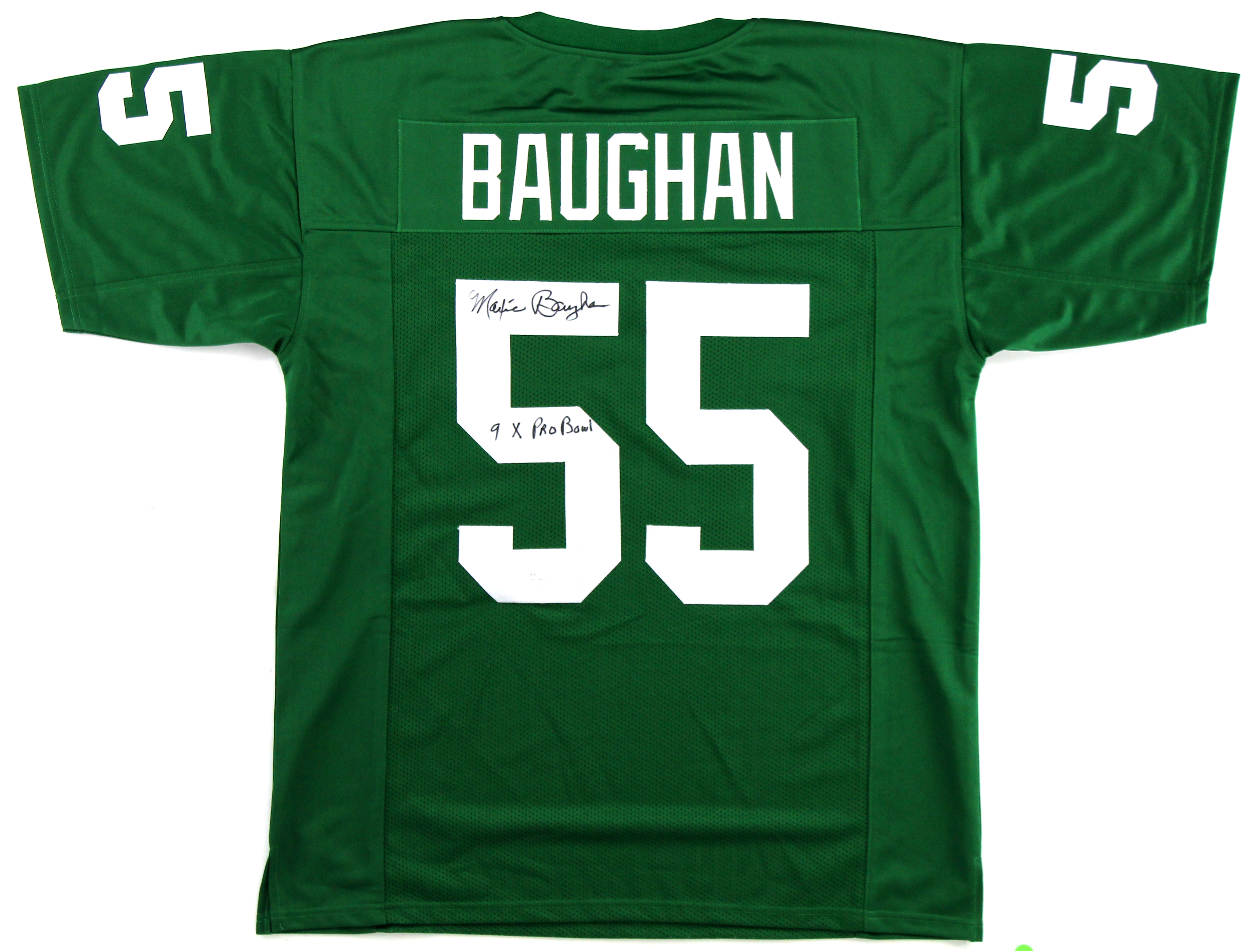 best sneakers 0c8dc af90c Maxie Baughan Signed Philadelphia Eagles Custom Green Jersey With