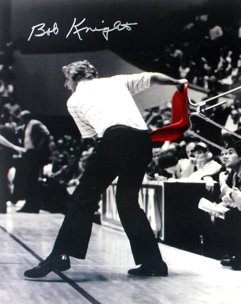 Bob Knight Signed Indiana Hoosiers 16×20 NCAA Photo ...