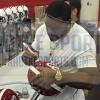"Mark Ingram Signed Alabama Crimson Tide Schutt Full Size Helmet with ""Heisman 2009"" Inscription-12071"