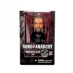 Jax Teller Sons of Anarchy Officially Licensed Mezco Bobble Head Toy-0