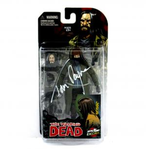 "Tom Payne Signed The Walking Dead Paul ""Jesus"" Monroe Color Action Figure-0"