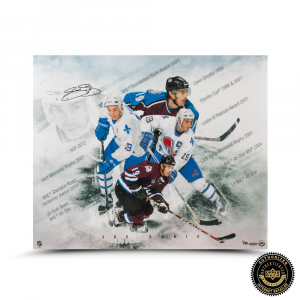 "Joe Sakic Signed ""Super Joe"" 20x24 Photo-0"