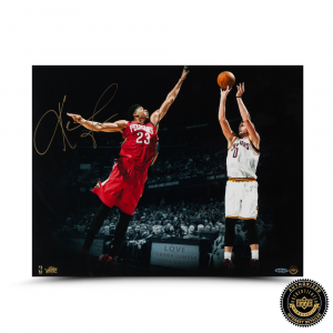 "Kevin Love Signed Cleveland Cavaliers 16x20 ""Corner Jumper"" Photo-0"