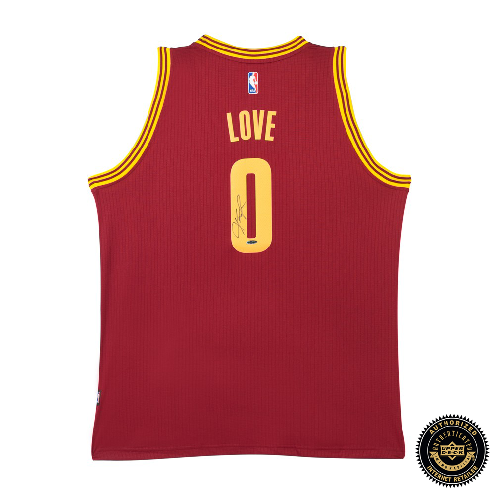 uk availability cecbe 65cc2 Kevin Love Signed Cleveland Cavaliers Swingman Away Jersey