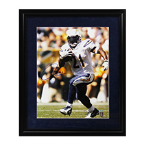 LaDainian Tomlinson Signed San Diego Chargers Framed 16x20 Photo-17048