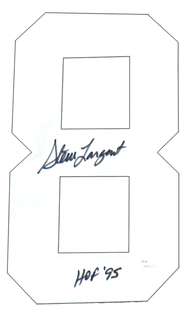 the latest 36dee fd7e5 Steve Largent Signed Seattle Seahawks Throwback Custom Home Jersey with