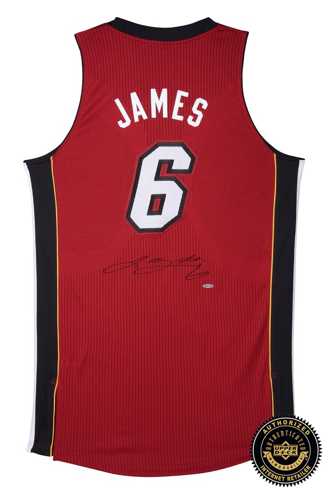 lebron james miami heat jersey