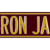 LeBron James Court Officially Licensed Authentic Steel 36x6 Maroon & Yellow NBA Street Sign-9051