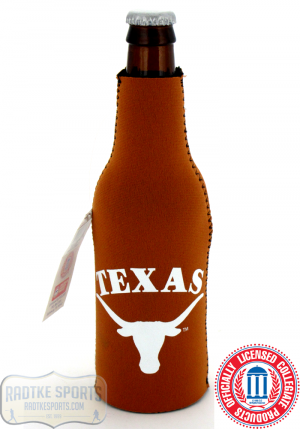 Texas Longhorns Officially Licensed 12oz Neoprene Bottle Huggie-0