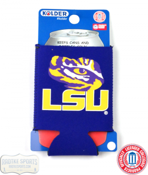 LSU Tigers Officially Licensed 12oz Neoprene Can Koozie-0
