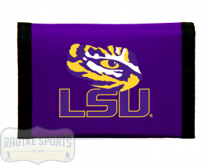 LSU Tigers Officially Licensed NCAA Nylon Wallet-0