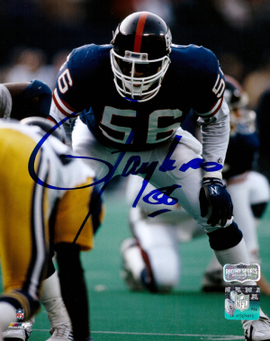 Lawrence Taylor Signed New York Giants Color 8x10 Photo-0