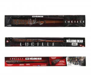 Jeffrey Dean Morgan Signed The Walking Dead McFarlane Toys Lucille Boxed Bat-0