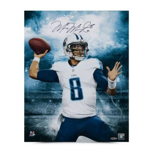 "Marcus Mariota Signed ""Stadium Series"" 16x20 Photo-13902"