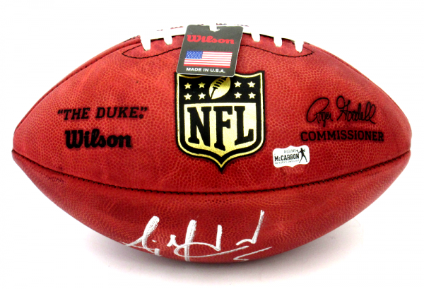 AJ McCarron Signed Cincinnati Bengals Wilson Authentic NFL Football-10178