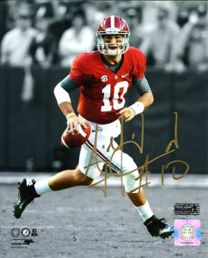 AJ McCarron Autographed/Signed Alabama Crimson Tide 16x20 NCAA Photo - Spotlight-0