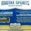 AJ McCarron Signed Alabama Crimson Tide Framed 16x20 NCAA Photo - Red Jersey-14966