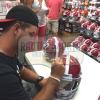 AJ McCarron Signed Alabama Crimson Tide Schutt Full Size NCAA Helmet-5062