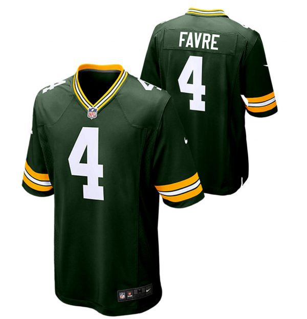 Brett Favre Green Bay Packers Nike Game Day Jersey -26178
