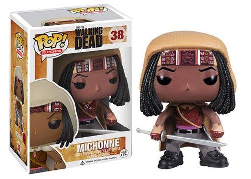 Funko Pop! Michonne The Walking Dead #38 Vinyl Collectible Figure-0