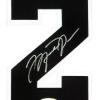 Michael Jordan Signed Chicago Bulls Mitchell & Ness Vintage NBA Basketball Jersey - UDA-9017