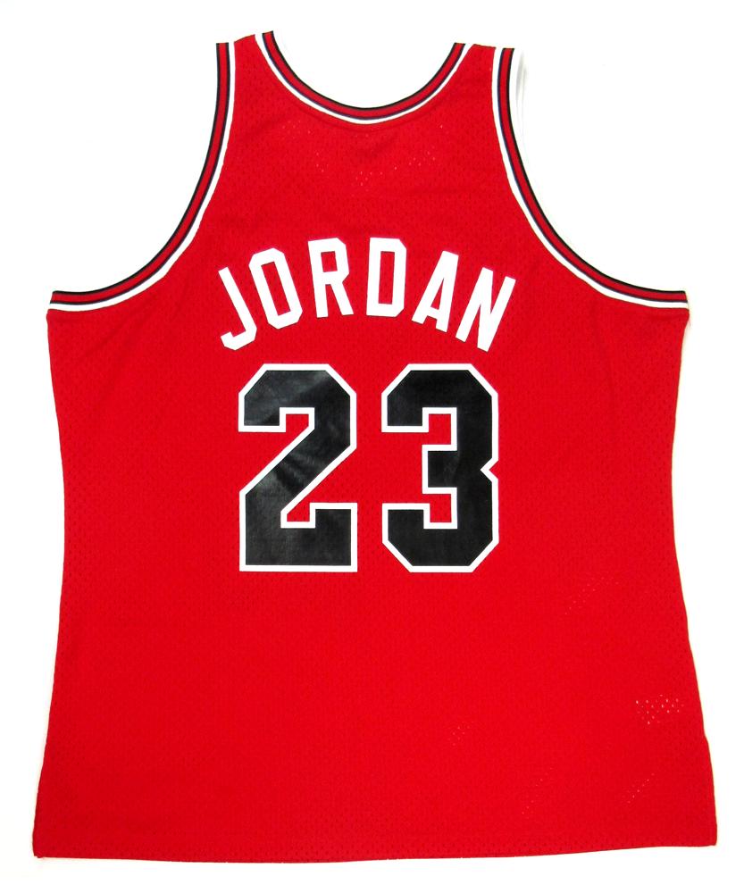 new arrival 097fe 8df07 Michael Jordan Signed Chicago Bulls Mitchell & Ness Vintage Rookie Season  NBA Basketball Jersey - UDA